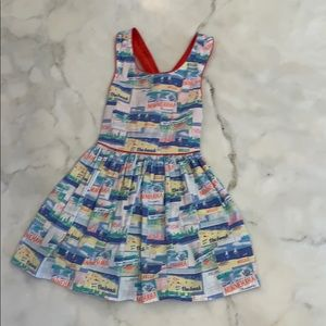 "Girls ""camp"" dress. Sz 4T. Genuine kids."